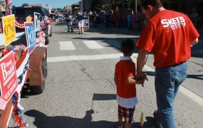 Parade with Family